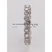 Kristály karika Swarovski Elements gyűrű