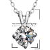 Brill Swarovski Elements kristály nyaklánc